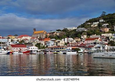 View of St. George's, Grenada, Caribbean Sea