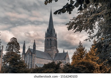 The view of the St Mary's Cathedral, Killarney, Ireland