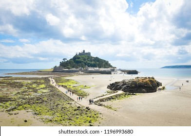 View of St. Michael's Mount in Cornwall