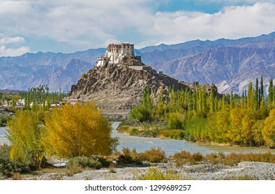View of Stakna Monastery in Leh Ladakh, India