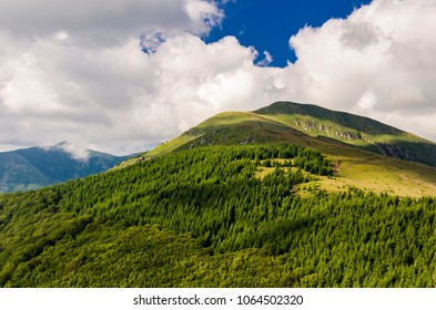 View at Stara planina mountain in Serbia
