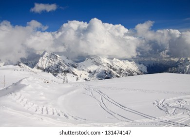 view from step Salati (Monte Rosa)