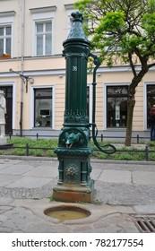 View of street in Nikolaiviertel