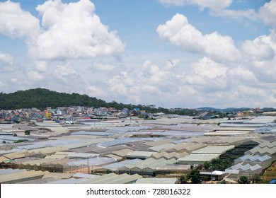 View of the suburb of Dalat, Vietnam