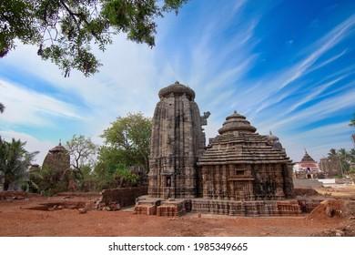 View at the SukaSari Temple in Bhubaneswar - Odisha, India