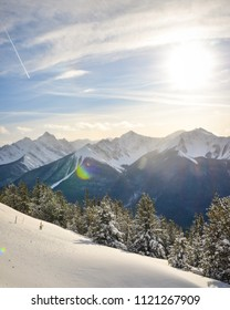 View from Sulphur Mountain in Banff National Park, Alberta Canada
