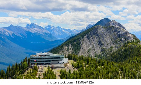 View from Sulphur Mountain, Banff National Park