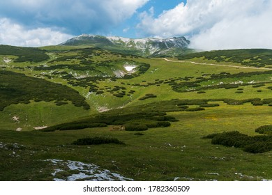 A view of the summit Wappenkloster in the Schneeberg Mountains, the Eastern Alps, Austria