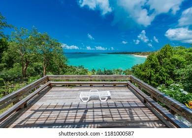 View of Sun Deck Terrace, Eleuthera, Bahamas