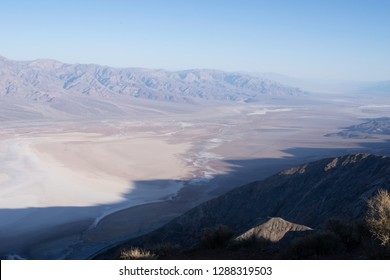 View at sunrise from Dante's View, Death Valley, California, USA