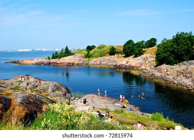 View of Suommenlinna Island, Finland
