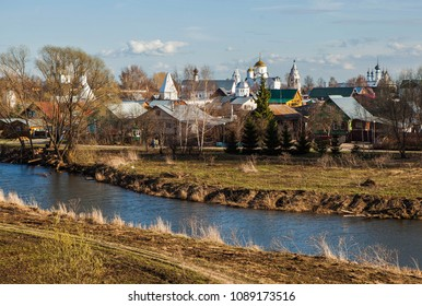The view of Suzdal, Vladimir region, Russia.