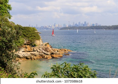 View of Sydney skyline from Watson's Bay