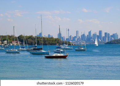 View Of Sydney Skyline From Watson's Bay - Image