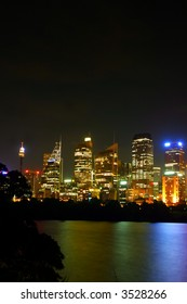 A view of Sydney's skyline
