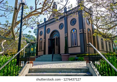 View of the synagogue in the city of San Diego.