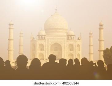 Taj Mahal View Point Images Stock Photos Vectors