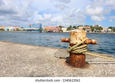 view taken from Handelskade in Curacao