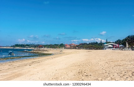 View of Tanjung Benoa beach in Bali, Indonesia