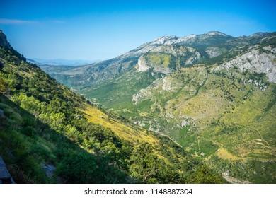 view from Tara mountains, Montenegro