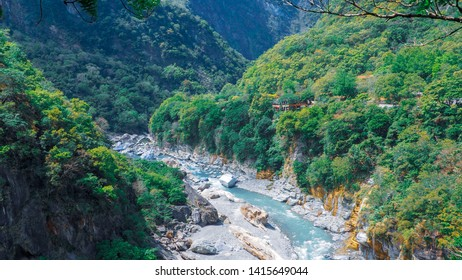 View of Taroko national park in Hualien city, Taiwan