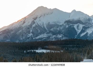 view to the Tatra Mountains, Tatra National Park, Poland and Slovakia