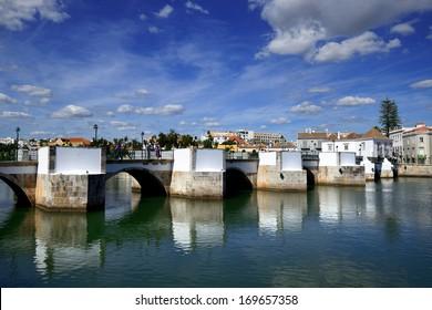 View of Tavira city, Portugal