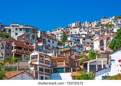 view of Taxco, Guerrero, Mexico