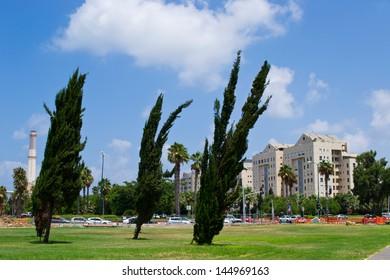 View of Tel Aviv street,Israel