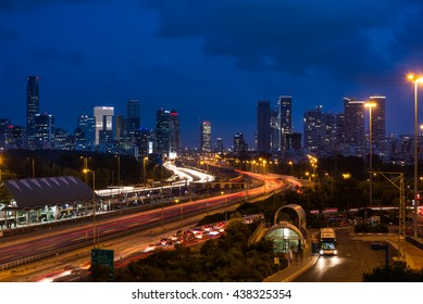 View from Tel Aviv University, Israel