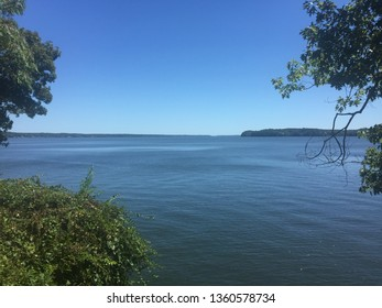 View of the Tennessee River in Florence Alabama