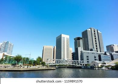 view of tennozu shinagawa tokyo
