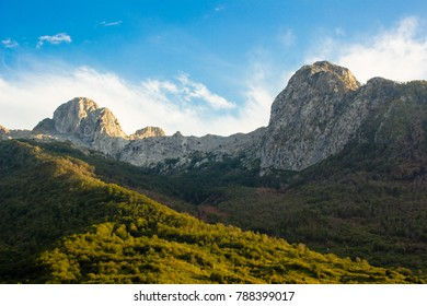 View from Teth Valley, Albania