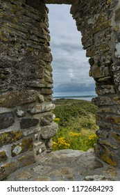 View through the Church Window, Scattery Island ,County Clare, Ireland. August 2017
