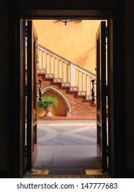 A View Through a Door