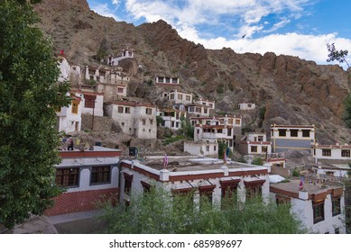 View if Tibetan Hemis monastery - Ladakh, Jammu and Kashmir ,India