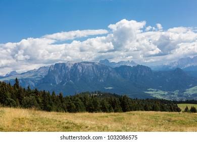 View in tirol alps