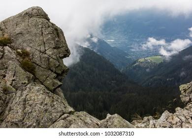 View in tirol mountains