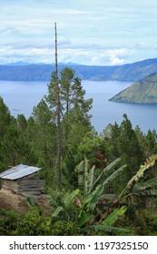 View of Toba lake and Samosir island