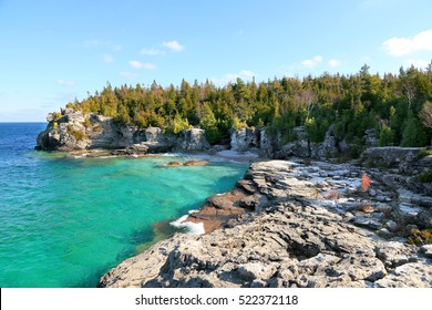 View at Tobermory Bruce Peninsula, Ontario, Canada