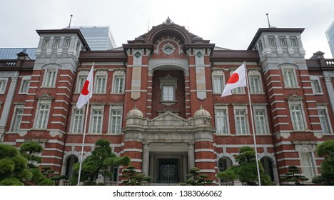THe view of Tokyo station