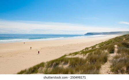 View of Tolsta beach in the  Isle of Lewis, Outer Hebrides, Scotland, UK.