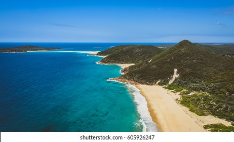 View from Tomaree Head, Port Stephens