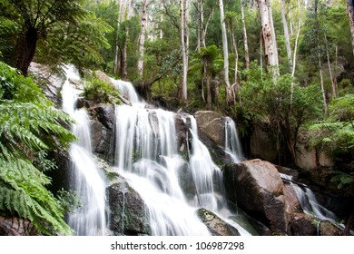 View of Tooronga Falls located in Victoria, Australia