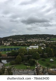 View from the top of Bath Abbey