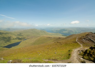 A view from the top of Ben Lawers