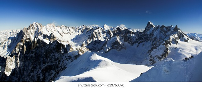View from the top, Chamonix-Mont-Blanc, Aiguille du Midi