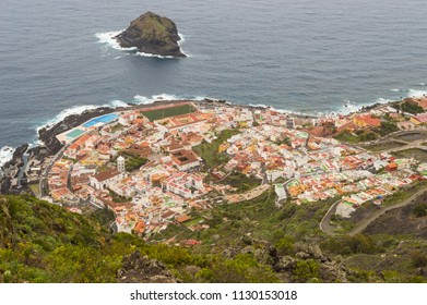 View in the top of the city of Garachico on the island of Tenerife