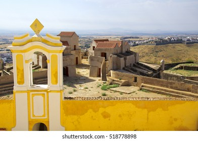 View from top of Graça Fort. Elvas. Portugal.
