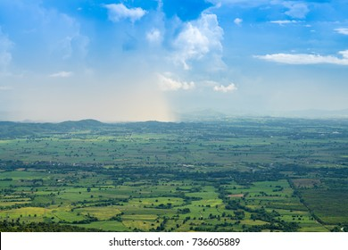 View from the top of Khao Yai Tiang, Nakhon Ratchasima, Thailand.